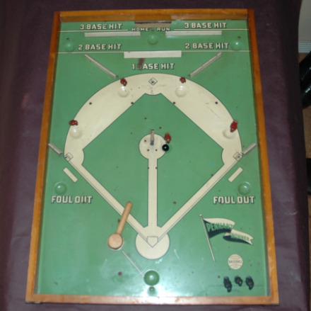 Wolverine Pennant Winner Baseball Board Game-Wolverine pennant winner baseball game