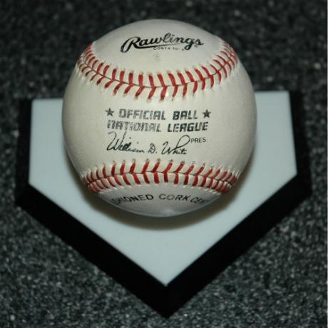 Bob Feller Autograph Baseball-bob feller autograph baseball