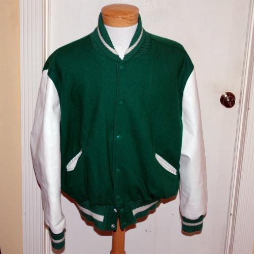 Vintage HS Letter Jacket-vintage letter jacket, letter jacket