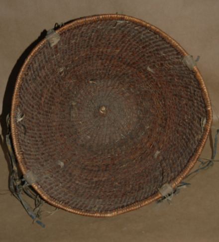 Antique Jicarilla Apache Burden Basket-jicarilla apache burden basket native american indian