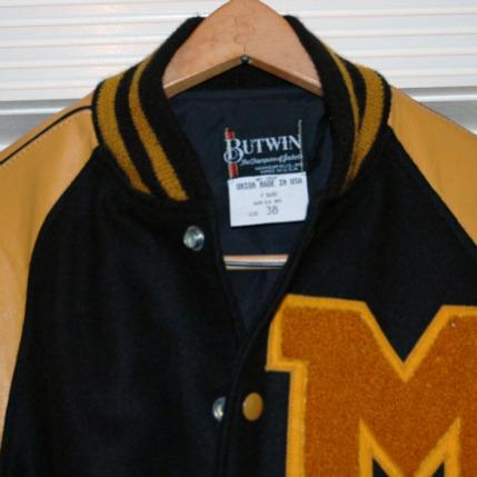 Vintage Letter Jacket-vintage varsity letter jacket