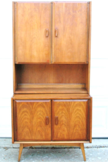 Mid-Century Modern Hutch Liquor Cabinet-mid century modern, mid-century modern, hutch, cabinet