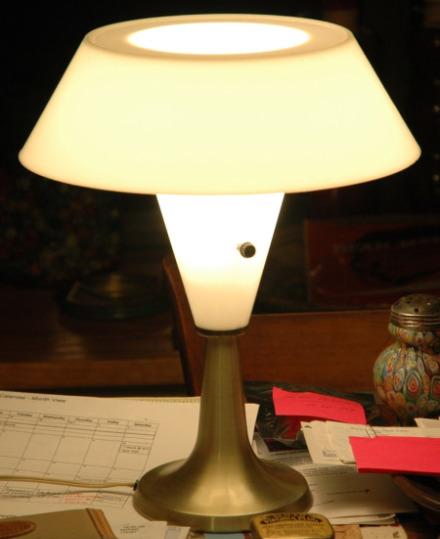 Mid-Century Modern Table Lamp-Mid century modern lighting, lamp