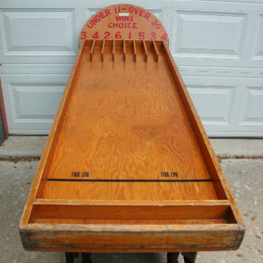 Vintage Under 11 - Over 30 Arcade Game-under over arcade game