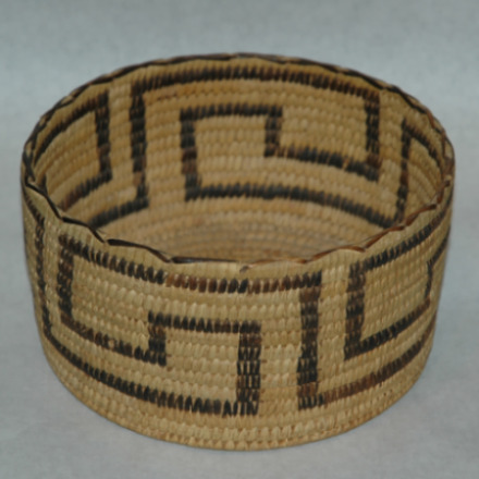 Papago Basket-papago basket, native american basket, yucca basket, indian basket