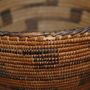 Antique Pima Indian Basket-pima indian basket devil's claw arizona