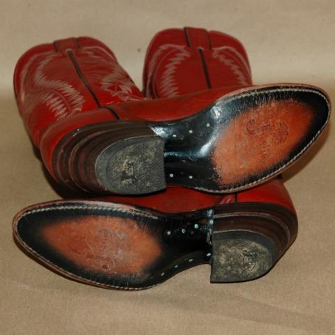 Vintage Justin Cowboy Boots W 7B-vintage justin boots