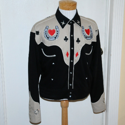Rockabilly Jacket-rockabilly jacket, western jacket, cowboy jacket,