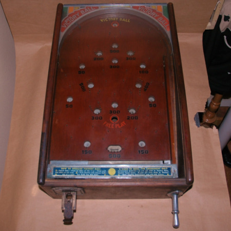 O.D. Jennings Victory Ball Pin Game-Jennings victory ball pin game pin ball