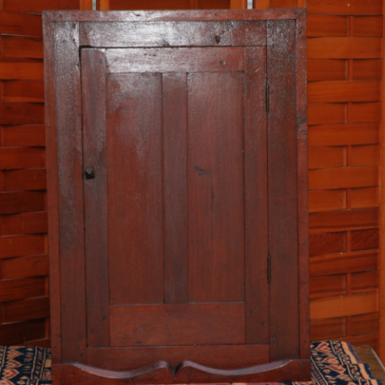 Walnut Wall Cabinet-early walnut cabinet