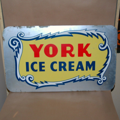 York Ice Cream Sign-ice cream sign, york ice cream,