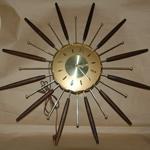 Starburst Clock-